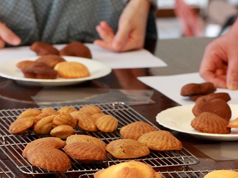 パンとケーキのお教室