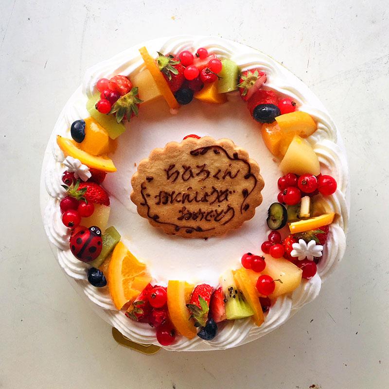 バースデーケーキ  フルーツのロンド 定番