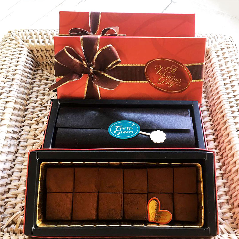 生姜入り生チョコレート