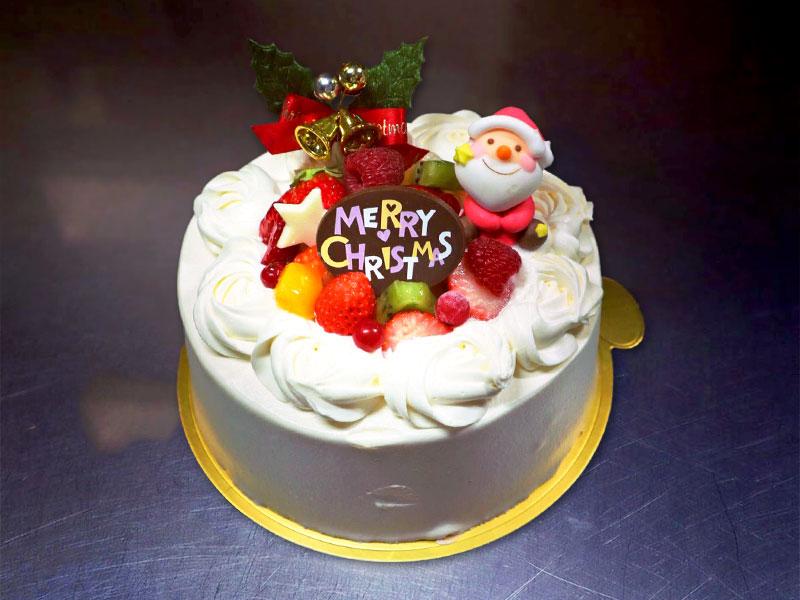 フルーツのクリスマスデコレーション