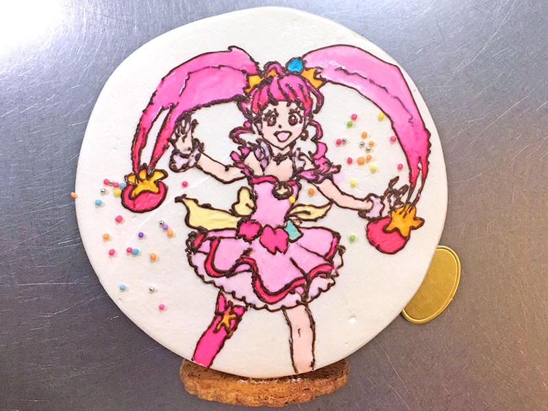 お絵かきケーキ